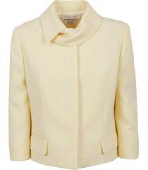 alexander mcqueen boxy tailored jacket