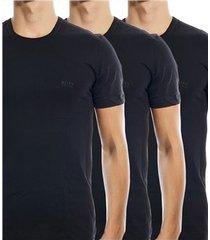 hugo boss 3 stuks classic crew neck t-shirt * gratis verzending *