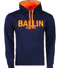 ballin est. 2013 heren hoodie sweat / oranje