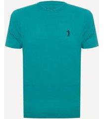 camiseta aleatory lisa reativa masculina - masculino