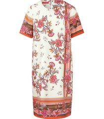 jurk van 100% zijde van laura biagiotti roma multicolour