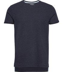 barras cn tee ss t-shirts short-sleeved blå calvin klein jeans