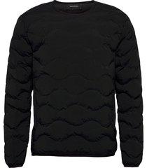 m helium crew fells view sweat-shirts & hoodies fleeces & midlayers svart peak performance