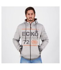 jaqueta ecko function cinza mescla