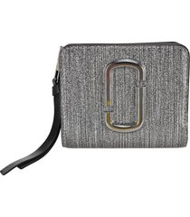 marc jacobs the snapshot glitter mini compact wallet