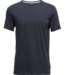 jari refined cotton t-shirts short-sleeved blå calvin klein