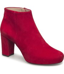 north_ks shoes boots ankle boots ankle boots with heel röd unisa