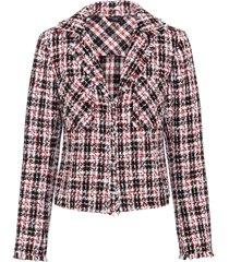 blazer corto bouclé (rosso) - bodyflirt