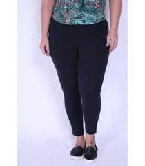 calça kauê plus size legging cotton feminina