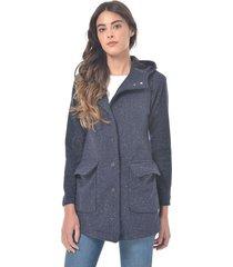chaqueta para mujer en paño gris color-azul-talla-xl
