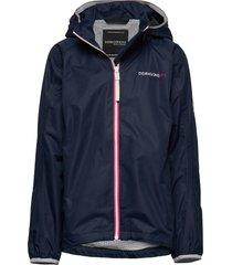 vivid gs jacket outerwear rainwear jackets blauw didriksons