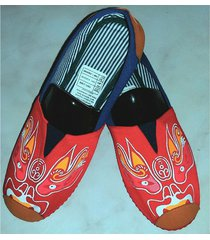 zapatillas boweipeiqi con dragon rosado