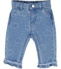 jeans bebe niña celeste  pillin