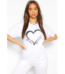 broken hearted t-shirt, wit