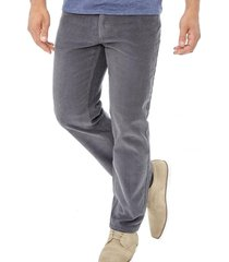 pantalon cotele gris corona