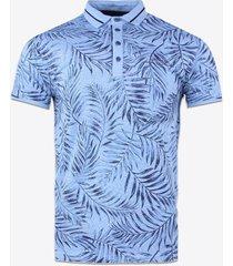 polo shirt korte mouw gabbiano denim 23111 poloshirt blue