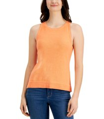 charter club sleeveless sweater, created for macy's