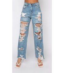 akira rock n' roll destroyed relaxed jeans