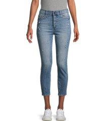 dl1961 women's farrow insta sculpt skinny jeans - tacoma - size 23 (00)
