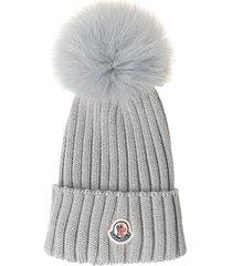 moncler wool knit hat
