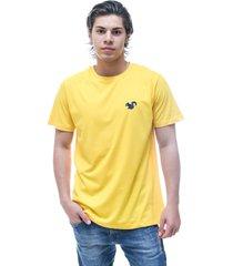camiseta vitoriano classic - amarelo - amarelo - masculino - algodã£o - dafiti