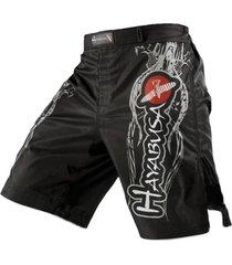 pantaloneta hombre deportiva dragón aguila muay thai boxeo 12039 gris talla m