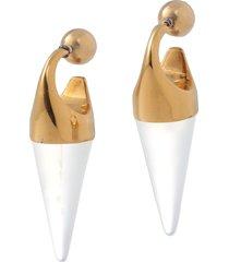 marni earrings with stone