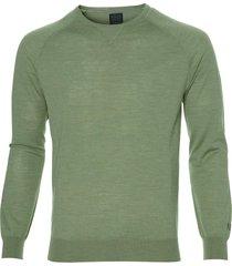 nils pullover - slim fit - groen