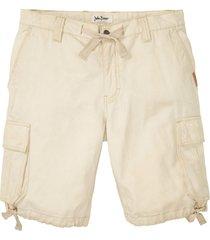 bermuda cargo con lavaggio loose fit (grigio) - john baner jeanswear