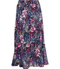 londoniw skirt knälång kjol multi/mönstrad inwear