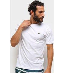 camiseta lacoste básica masculina - masculino