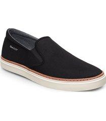 prepville slip-on shoes sneakers svart gant