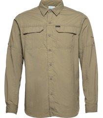 silver ridge eu 2.0 long sleeve shirt overshirts groen columbia