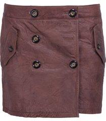 skirt paddingtons - pepe jeans - rokken - bruin