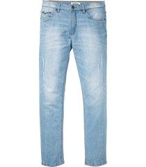 jeans elasticizzati slim fit straight (blu) - john baner jeanswear