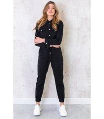 jumpsuit limited denim black