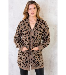 panter vest taupe