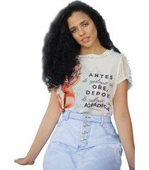t-shirt fascinius lolita off white