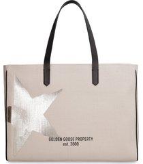 golden goose california canvas tote bag