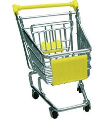mini shopping cart - yellow - promotional product - your logo imprinted (case pa