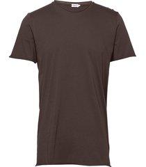 m. roll neck tee t-shirts short-sleeved brun filippa k