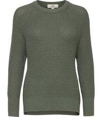 sweaters stickad tröja grön edc by esprit