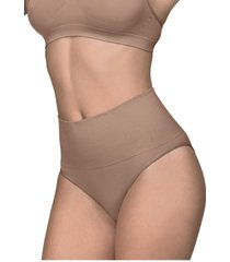 calcinha cinta ultraleve demillus 46204 bege rosado - bege - feminino - dafiti