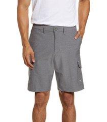 men's big & tall tommy bahama cayman bay board shorts, size 44 - grey