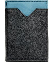 penguin men's leather card case