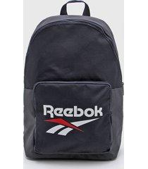 mochila azul reebok classic cl fo backpack