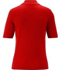 trui 100% kasjmier, topkwaliteit, model sabine van peter hahn cashmere rood