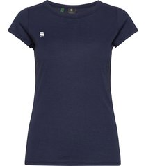 eyben slim r t wmn ss t-shirts & tops short-sleeved blauw g-star raw