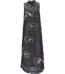 1979 patch organza dress