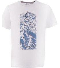 polera direct line cotton t-shirt s/s blanco lippi